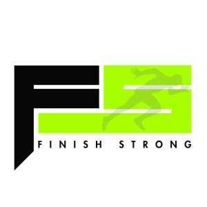 Haon- FINISH STRONG BLK WHT BG