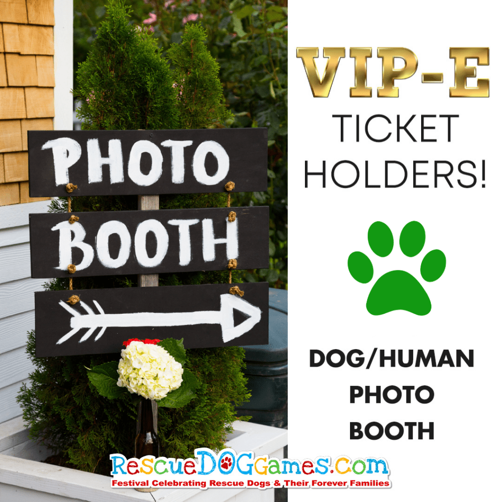 Dog/Human Photo Booth