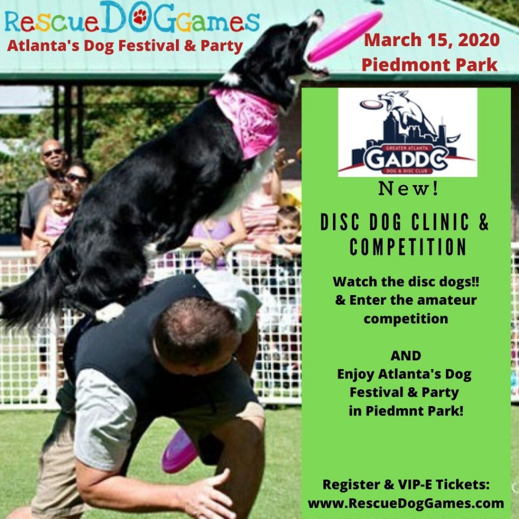 Disc Dog Clinic & Competition