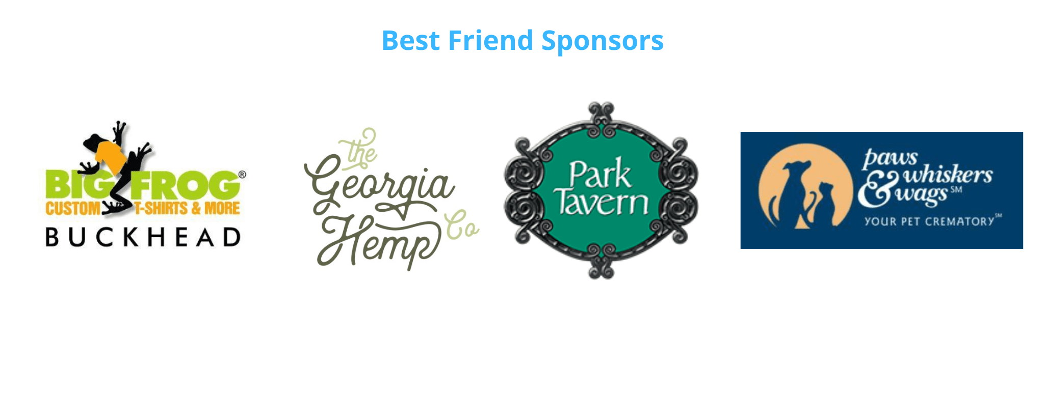 Best friend sponsors