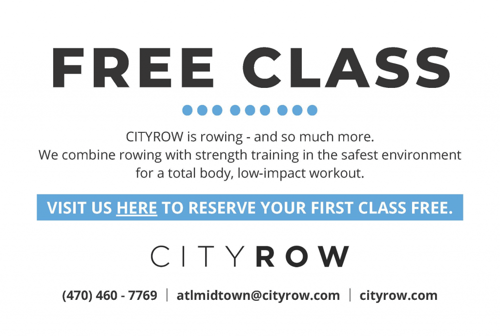 CITY ROW COUPON FREE CLASS-RDG-2020