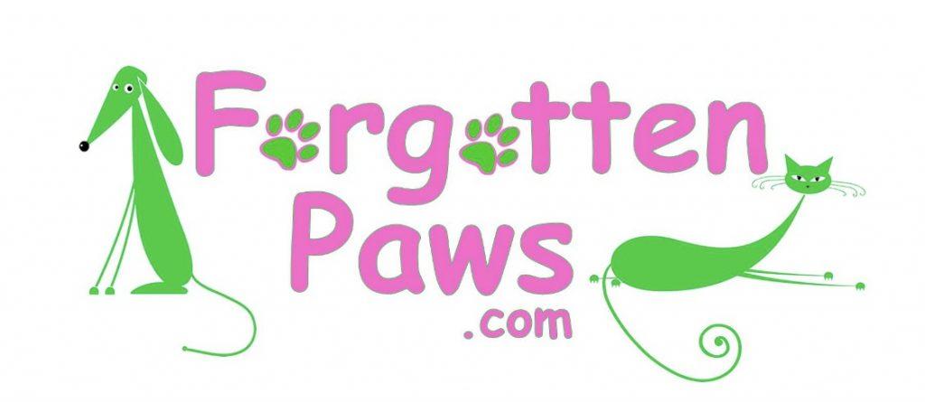 Forgotten Paws logo